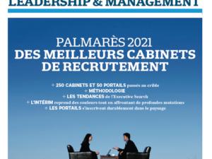 Parution presse : «Palmarès des meilleurs cabinets de recrutement, Les Echos»
